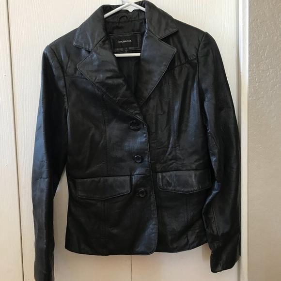 COLEBROOK Jackets & Blazers - COLEBROOK 100% leather Jacket S
